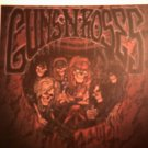 GUNS N ROSES DECAL not STICKER skeleton band VINTAGE