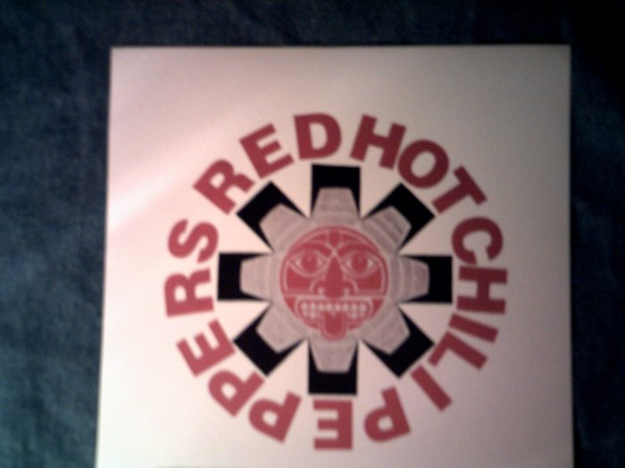 RED HOT CHILI PEPPERS STICKER totem star logo VINTAGE 90s