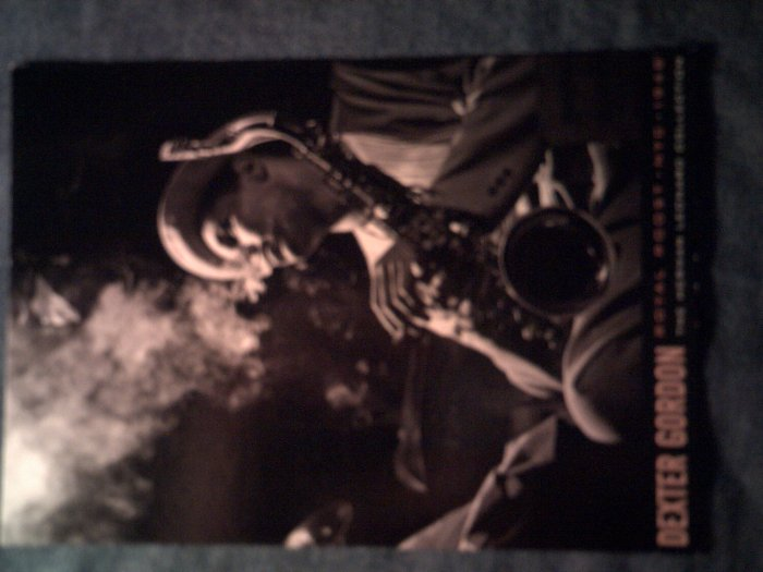 DEXTER GORDON POSTCARD B&W pic herman leonard collection jazz IMPORT
