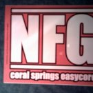NEW FOUND GLORY STICKER Coral Springs Easycore SALE