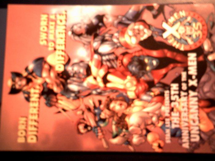 UNCANNY X-MEN POSTCARD 35th Anniversary xmen PROMO