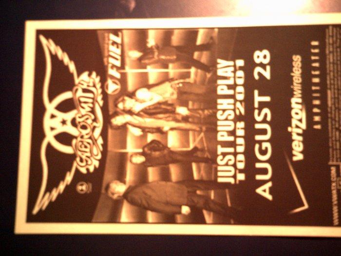 CONCERT FLYER Aerosmith John Mellencamp Wallflowers Fuel texas SALE