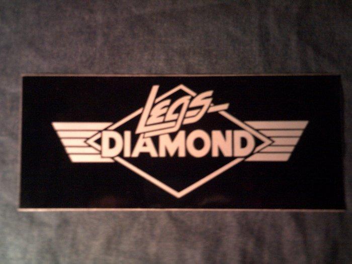 LEGS DIAMOND STICKER classic logo SCARCE!
