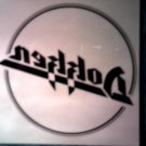 DOKKEN STICKER logo clear decal