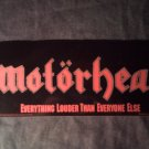 MOTORHEAD STICKER Everything Louder Than Everything Else