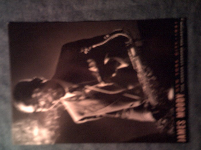 JAMES MOODY POSTCARD B&W pic herman leonard collection jazz IMPORT