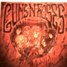 GUNS N ROSES STICKER skeleton band art
