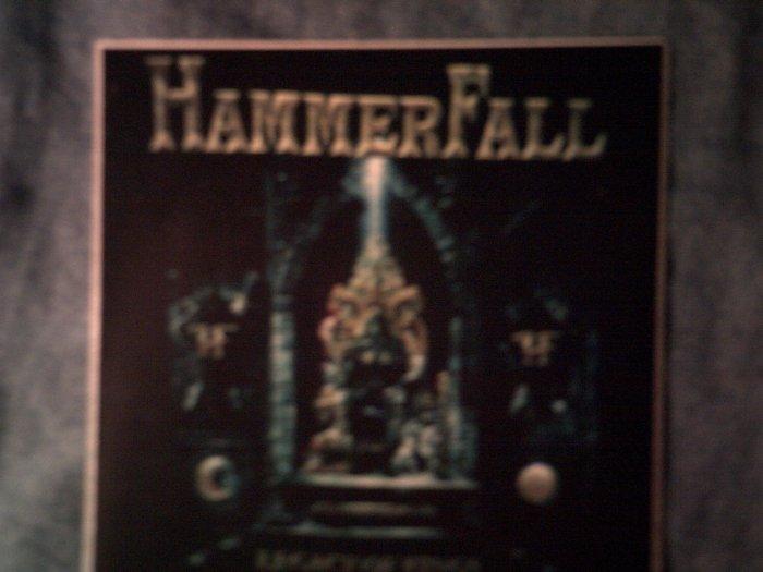 HAMMERFALL STICKER Legacy of Kings hammer fall