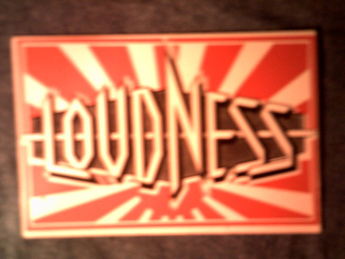 LOUDNESS STICKER Thunder in the East VINTAGE