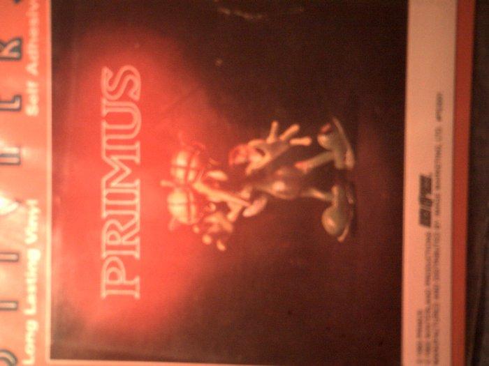 PRIMUS STICKER Miscellaneous Debris album art fly MIP