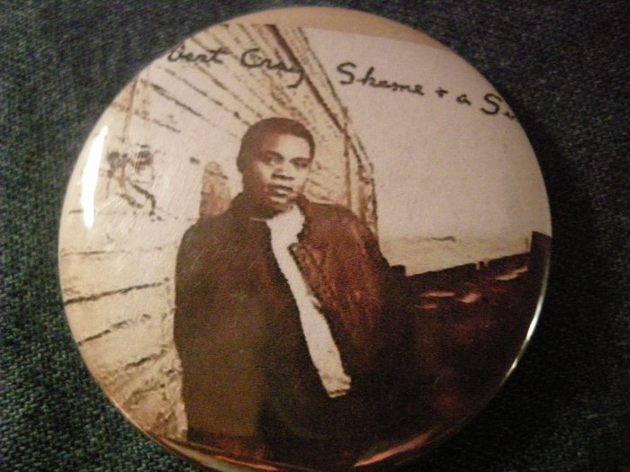 ROBERT CRAY PINBACK BUTTON Shame & A Sin album art blues