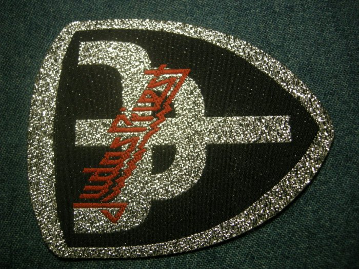 JUDAS PRIEST sew-on PATCH Defenders of the Faith symbol VINTAGE