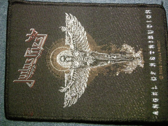 JUDAS PRIEST sew-on PATCH Angel of Retribution HTF