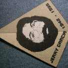 JERRY GARCIA sew-on PATCH triangle grateful dead IMPORT