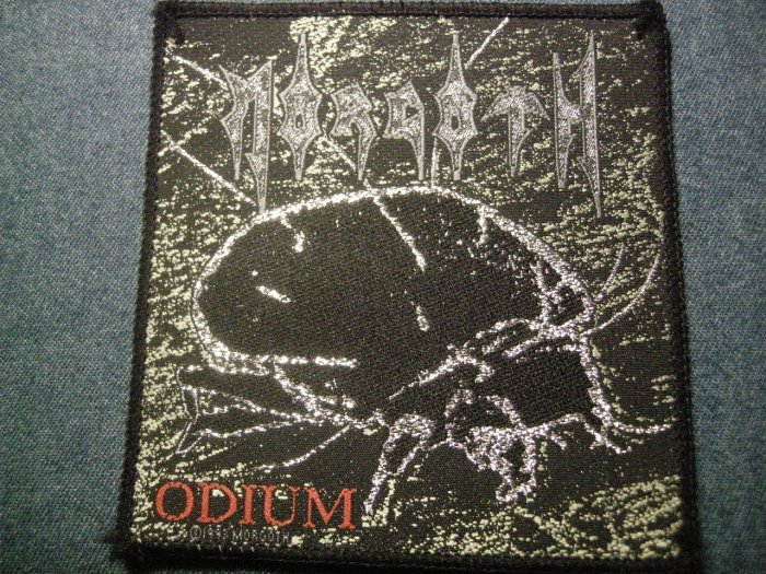 MORGOTH sew-on PATCH Odium death metal IMPORT