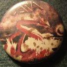 ASIA PINBACK BUTTON dragon roger dean VINTAGE 80s!