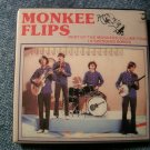 THE MONKEES PINBACK BUTTON Best Of Vol 4 album art square VINTAGE 80s!