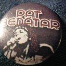PAT BENATAR PINBACK BUTTON headband pic VINTAGE 80s!