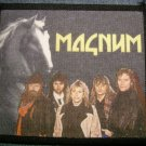 MAGNUM sew-on PATCH color band photo unicorn IMPORT