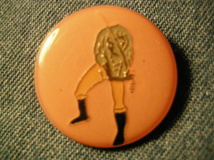 IRON MAIDEN TACK PIN japan eddie sword button VINTAGE 80s!
