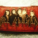 DEF LEPPARD TACK PIN band pic button VINTAGE 80s!
