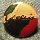 GENESIS TACK PIN Abacab phil collins button VINTAGE