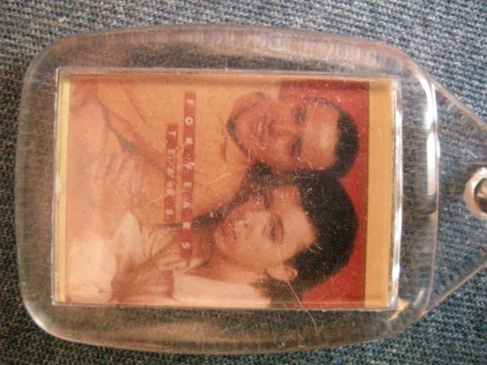 TEARS FOR FEARS KEYCHAIN color band pic key chain VINTAGE 80's!