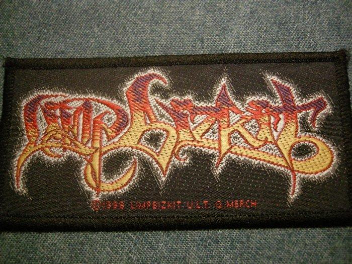 LIMP BIZKIT sew-on PATCH color logo IMPORT SALE