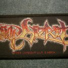 LIMP BIZKIT sew-on PATCH color logo IMPORT SALE