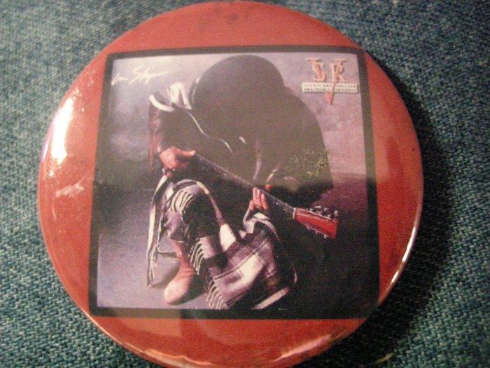 STEVIE RAY VAUGHAN PINBACK BUTTON In Step album art