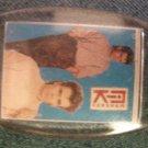 NIK KERSHAW KEYCHAIN color pics key chain VINTAGE 80's!