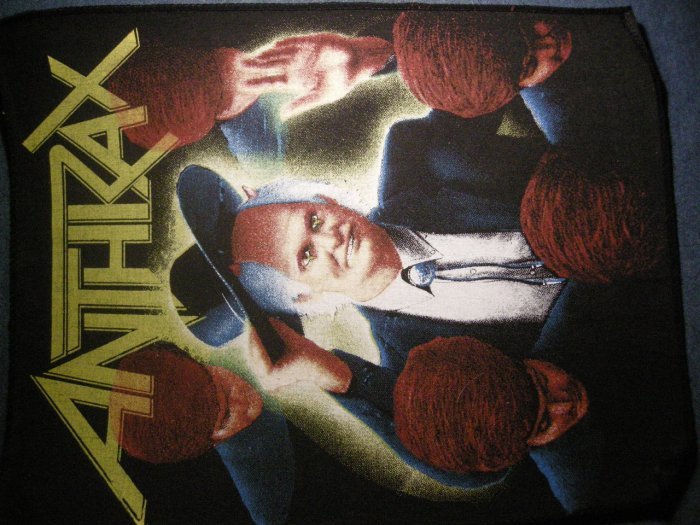 ANTHRAX BACKPATCH Spreading the Disease preacher patch VINTAGE
