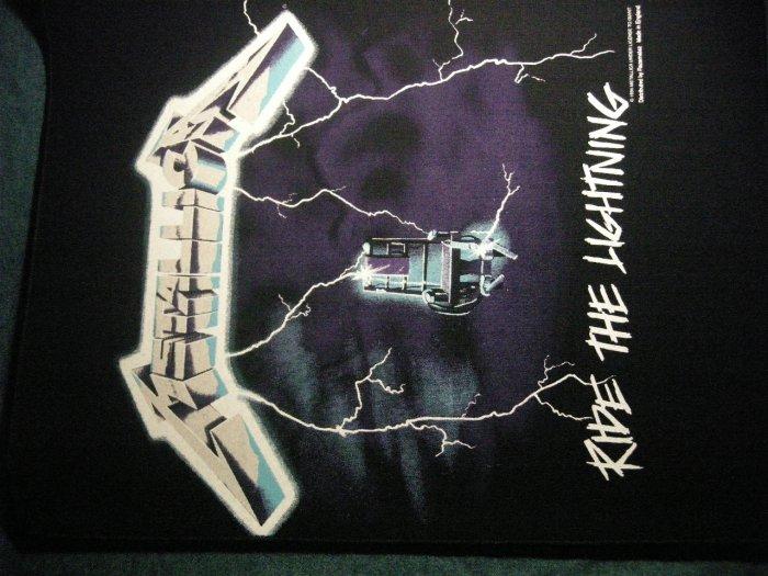 METALLICA BACKPATCH Ride the Lightning album art patch IMPORT