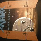 ANTHRAX BACKPATCH In My World persistance of time patch VINTAGE