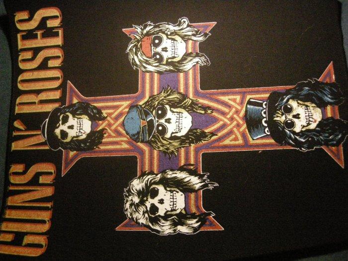GUNS N ROSES BACKPATCH Appetite for Destruction skull cross logo VINTAGE