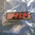 KMFDM TACK PIN red logo button SCARCE!