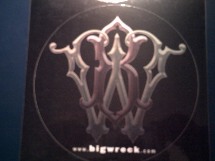 BIG WRECK STICKER Pleasure & the Greed logo PROMO SALE