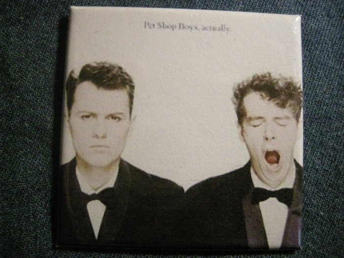 THE PET SHOP BOYS MAGNET Actually VINTAGE