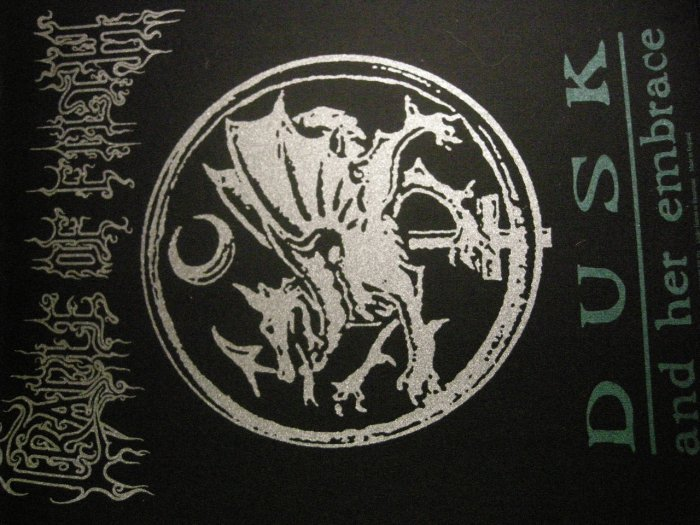 CRADLE OF FILTH BACKPATCH Dusk and Her Embrace dragon IMPORT