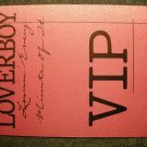 LOVERBOY BACKSTAGE PASS Lovin Every Minute of It pink vip bsp VINTAGE