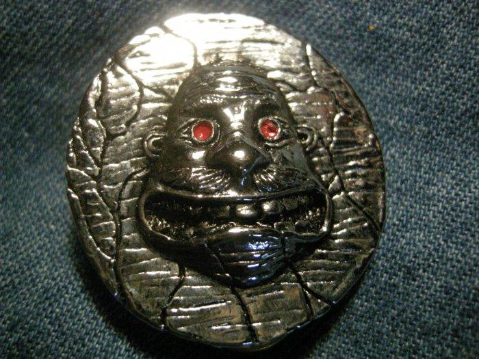 ANTHRAX METAL PIN not man badge IMPORT SALE