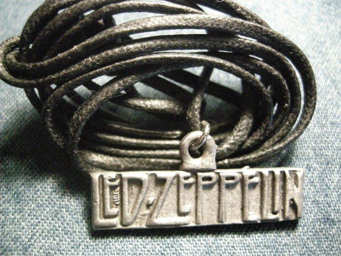LED ZEPPELIN METAL NECKLACE logo vintage SALE!