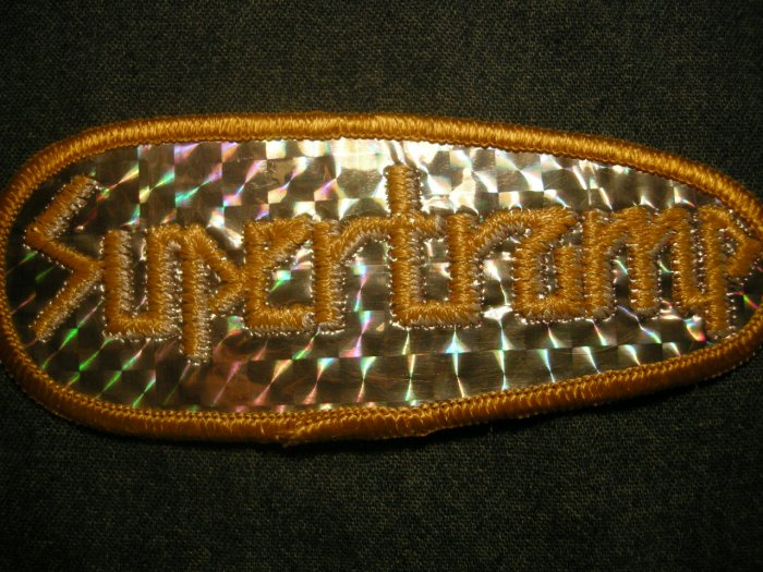 SUPERTRAMP iron-on PATCH prism classic logo VINTAGE 70s!