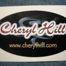 CHERYL HILL STICKER logo texas strf PROMO SALE