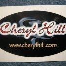 CHERYL HILL STICKER logo texas strf PROMO SALE