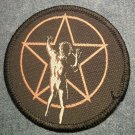 RUSH sew-on PATCH starman round IMPORT