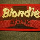 BLONDIE sew-on PATCH Atomic debbie harry VINTAGE
