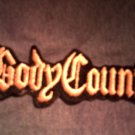 BODY COUNT iron-on PATCH logo ice-t rap VINTAGE 80s!