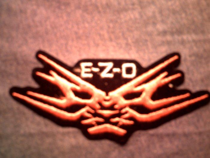 E.Z.O. iron-on PATCH ezo logo japan VINTAGE 80s