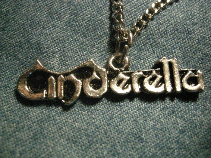CINDERALLA METAL NECKLACE classic logo VINTAGE